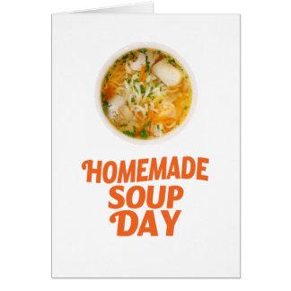Cartão 4 de fevereiro - dia caseiro da sopa