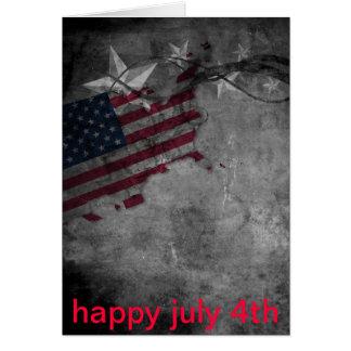 Cartão 4o julho