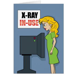 Cartão #51 obtêm o raio X bom no uso