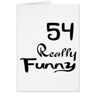 Cartão 54 designs realmente engraçados do aniversário