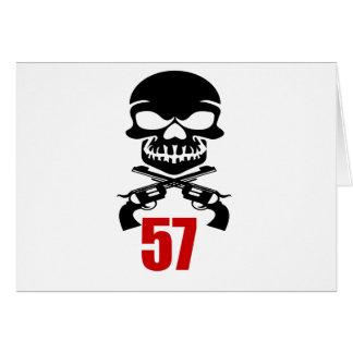 Cartão 57 designs do aniversário