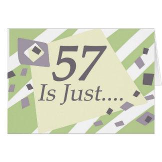 Cartão 57th Aniversário