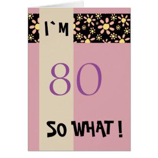 Cartão 60th Aniversário para seu inspirador engraçado