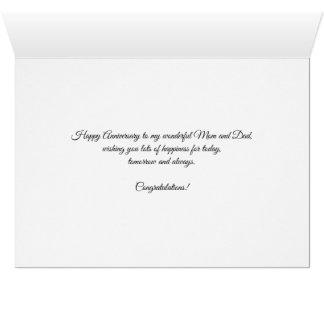 Cartão 62nd rosas felizes do aniversário para a mamã e o