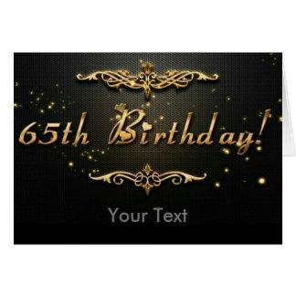 Cartão 65th Aniversário!