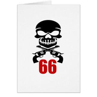 Cartão 66 designs do aniversário