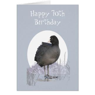 """Cartão 70 feito sob encomenda """"humor engraçado do pássaro"""