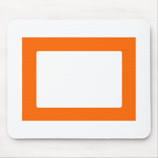 cartão 7X5 com a laranja interna redonda de Conors Mousepad