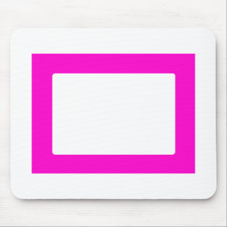 cartão 7X5 com magenta interna redonda de Conors T Mouse Pad