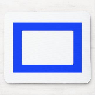 cartão 7X5 com o azul interno redondo de Conors Tr Mouse Pad