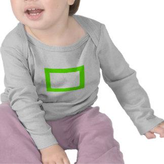 cartão 7X5 com o Conors interno redondo Transp Gre T-shirt