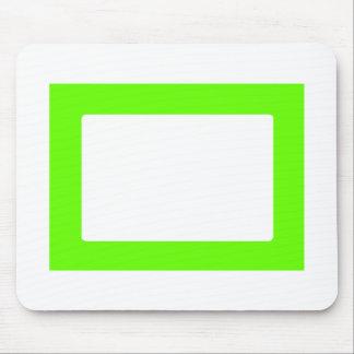 cartão 7X5 com o Conors interno redondo Transp Gre Mousepad