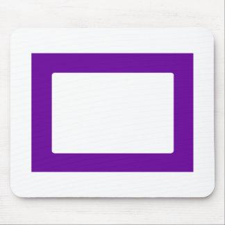 cartão 7X5 com o Conors interno redondo Transp Pur Mouse Pad