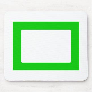 cartão 7X5 com verde interno redondo de Conors Tra Mouse Pad