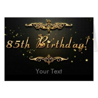Cartão 85th Aniversário!