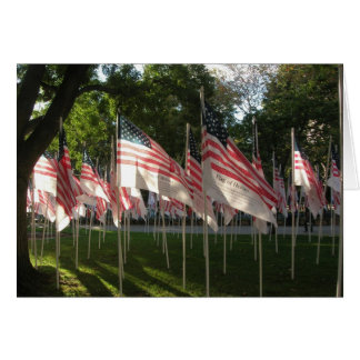 Cartão 9/11 de memorial