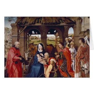 Cartão A adoração dos Magi, c.1455