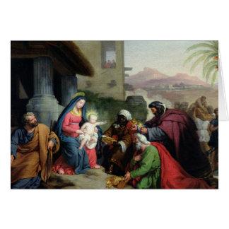 Cartão A adoração dos Magi, c.1833-36