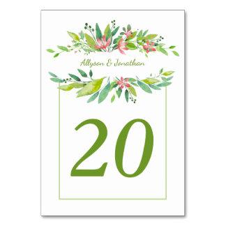 Cartão A aguarela da brisa do verão sae flores
