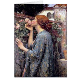 Cartão A alma do rosa, aka do meu doce aumentou