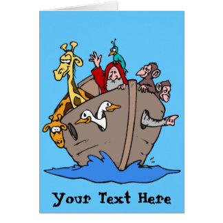Cartão - a arca de Noah