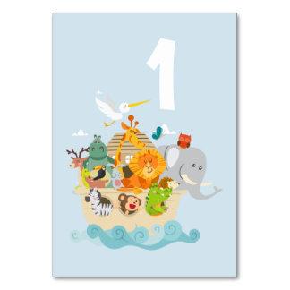 Cartão A arca de Noah - animais