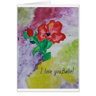 Cartão A arte do amor