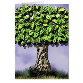 Cartão A árvore