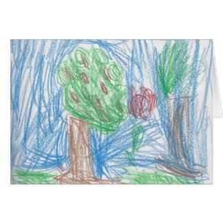 Cartão A árvore de Apple