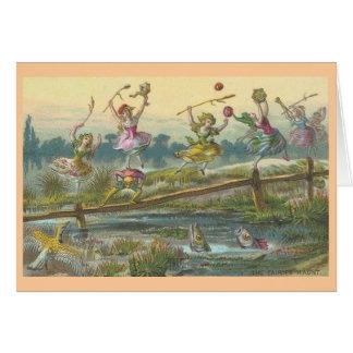 Cartão A assombração das fadas