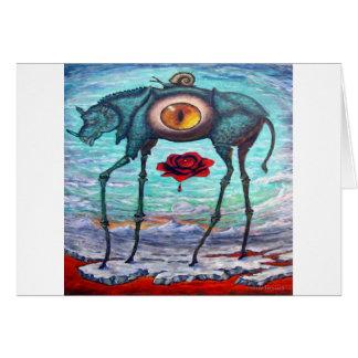 Cartão A beleza está no olho do espectador