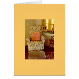 Cartão A cadeira do babá