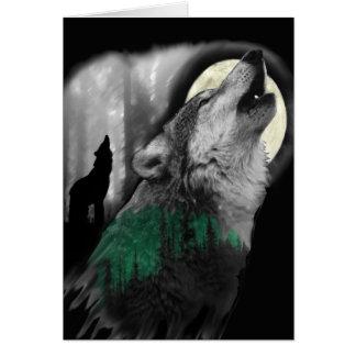 Cartão A canção do lobo
