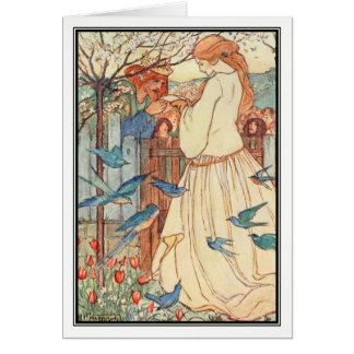 Cartão A canção nova por Florença Harrison