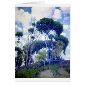 Cartão A cara aumentou - eucalipto de Laguna - obra-prima
