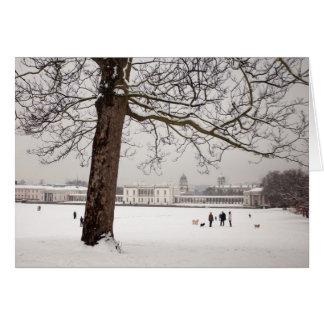 Cartão A casa da rainha, Greenwich