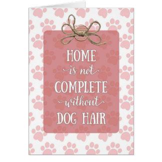 Cartão A casa do dia das mães não está completa sem o