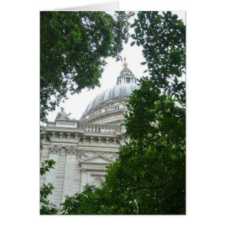 Cartão A catedral de St Paul