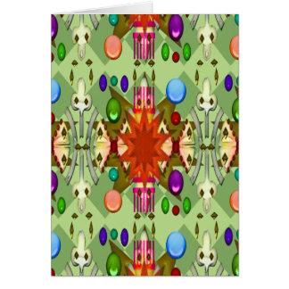 Cartão A catedral do partido da cor/renascimento da