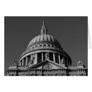 Cartão A catedral Londres de St Paul