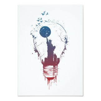 Cartão A cidade grande ilumina II