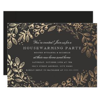 Cartão A colheita floresce o Housewarming