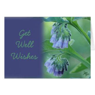 Cartão A consolda-maior obtem desejos bons ou alguma