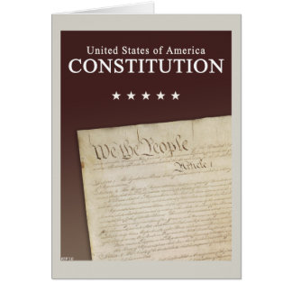 Cartão A constituição