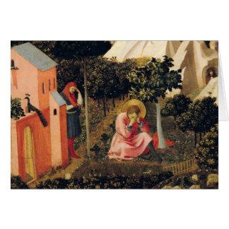 Cartão A conversão de St Augustine