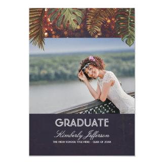 Cartão A corda da praia ilumina a graduação da foto das