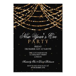 Cartão A corda festiva do partido da véspera de ano novo