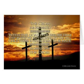 Cartão A cruz