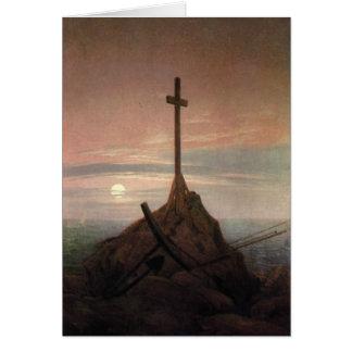 Cartão A cruz ao lado do Báltico