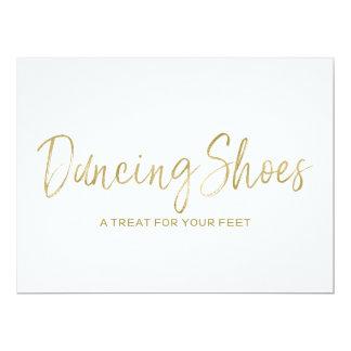 """Cartão A """"dança calça"""" o sinal à moda do casamento"""